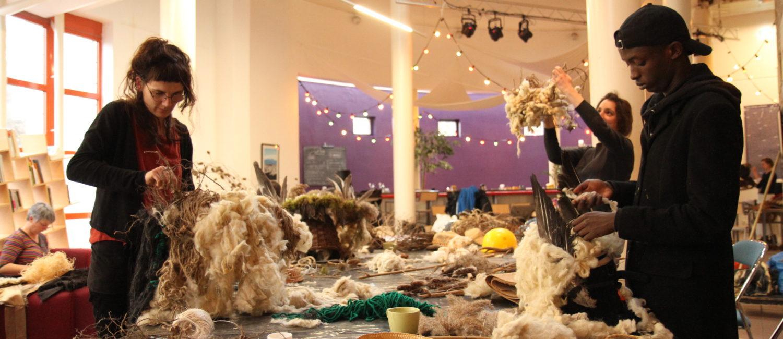 Atelier Crumbling Land avec Fabian Foort